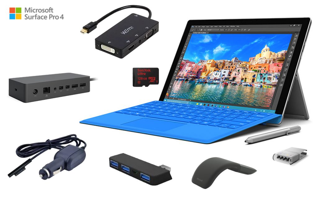 best microsoft surface pro 4 accessories in 2018. Black Bedroom Furniture Sets. Home Design Ideas