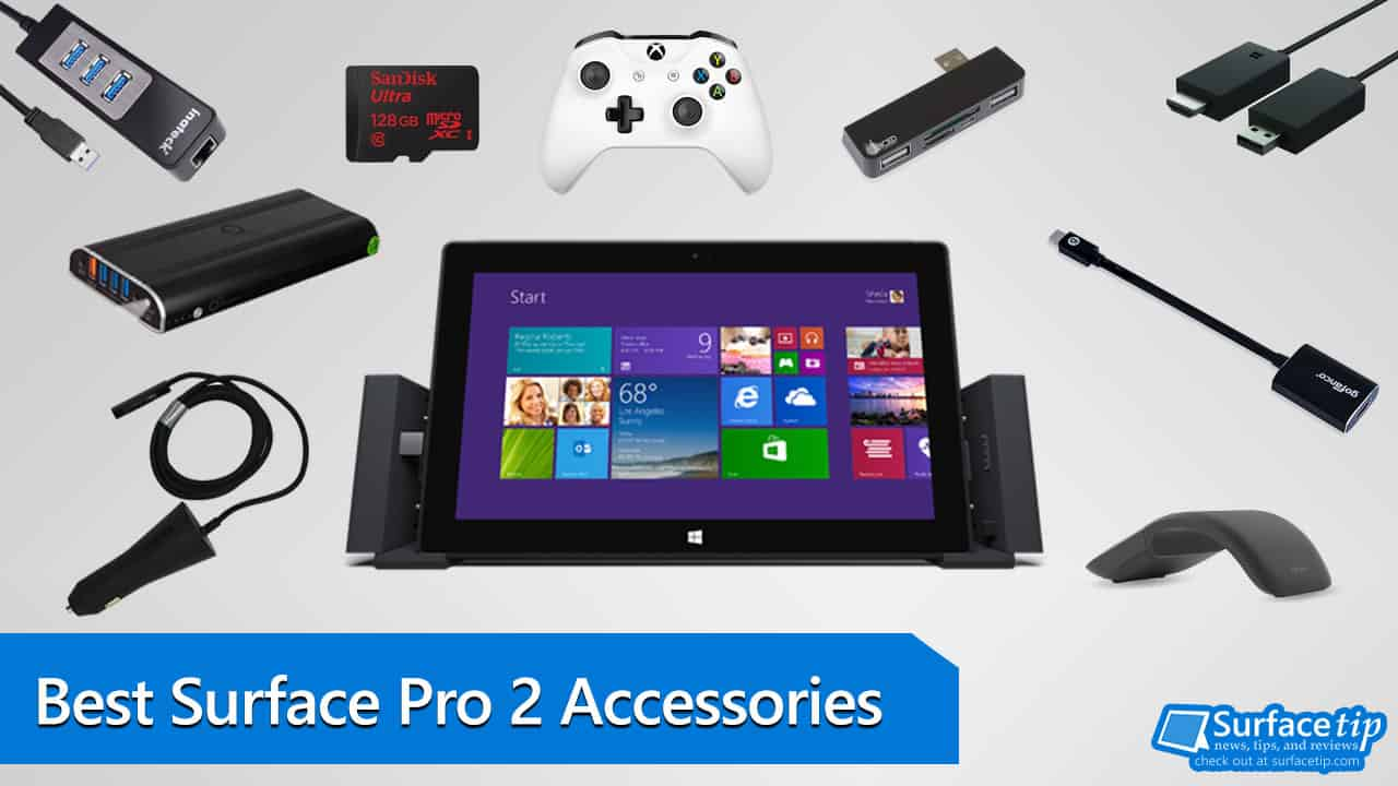 top 10 must have microsoft surface pro 1 and pro 2 accessories. Black Bedroom Furniture Sets. Home Design Ideas