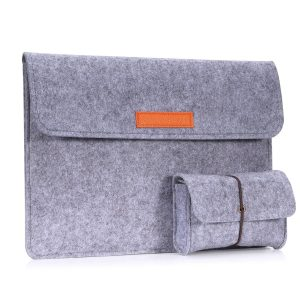 MoKo Sleeve Bag with a small felt bag for Surface Book