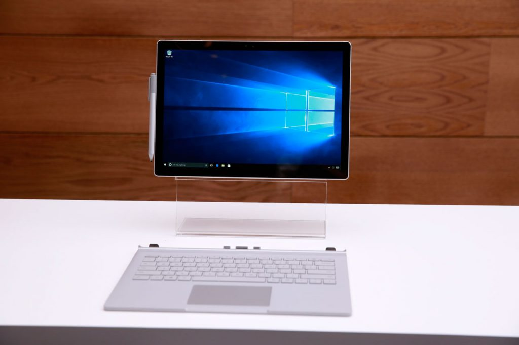 Surface Book Clipboard and Detachable Keyboard Base