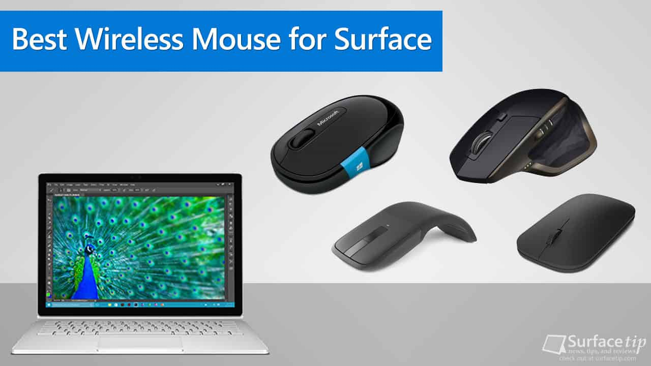 Best Wireless Mice for Microsoft Surface