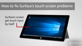How to fix Surface RT/2 or Surface Pro/2 phantom touch or ghost touch