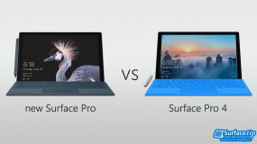 The new Surface Pro 2017 vs Surface Pro 4 Detailed Spec Comparison