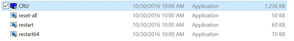 Custom Resolution Utility files