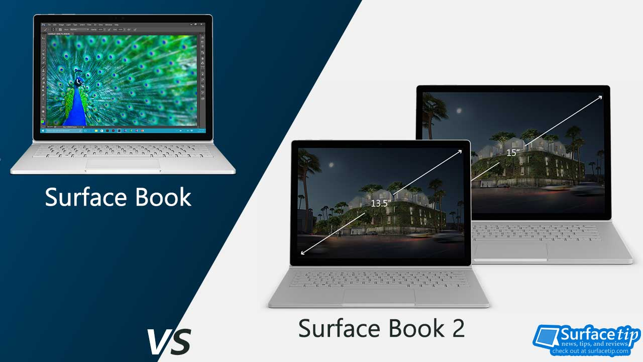 Surface Book 2 vs Surface Book