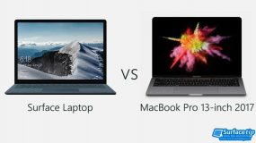 Surface Laptop vs MacBook Pro 13-inch 2017