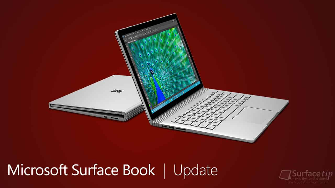 Microsoft Surface Book Update