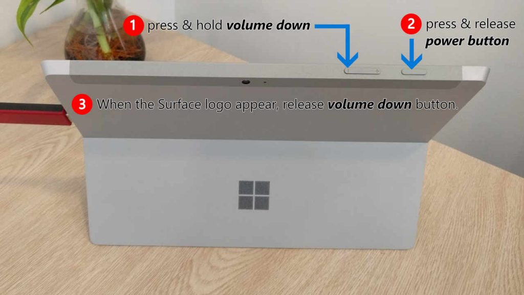 How to boot your Surface from a USB Drive