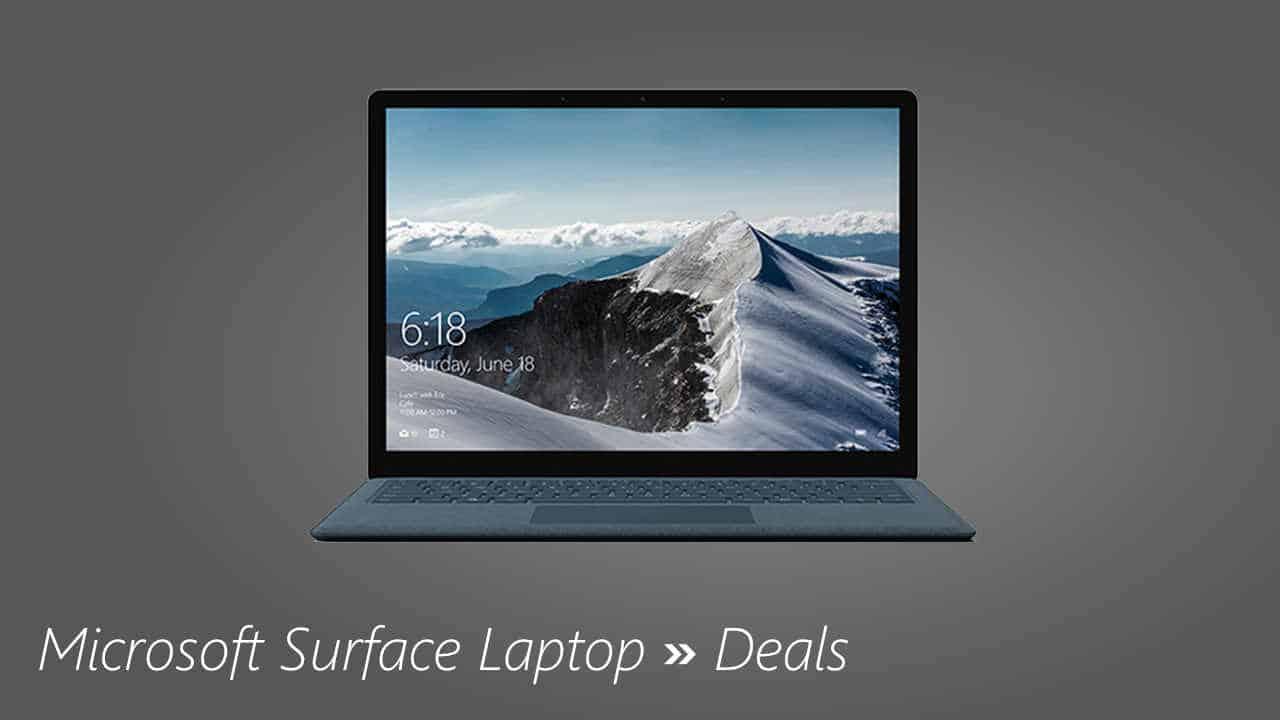 Microsoft Surface Laptop Deals