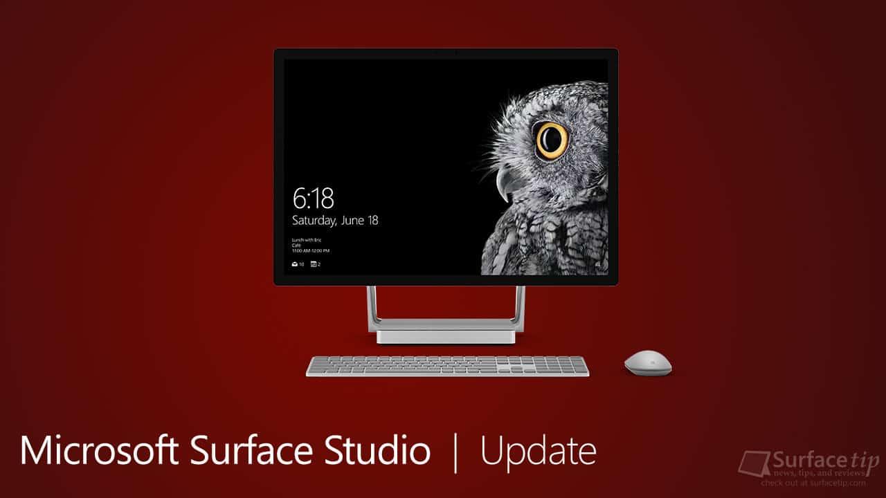 Surface Studio Update