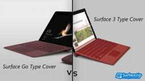 Surface Go Type Cover vs. Surface 3 Type Cover