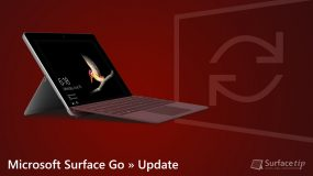 Microsoft Surface Go Update