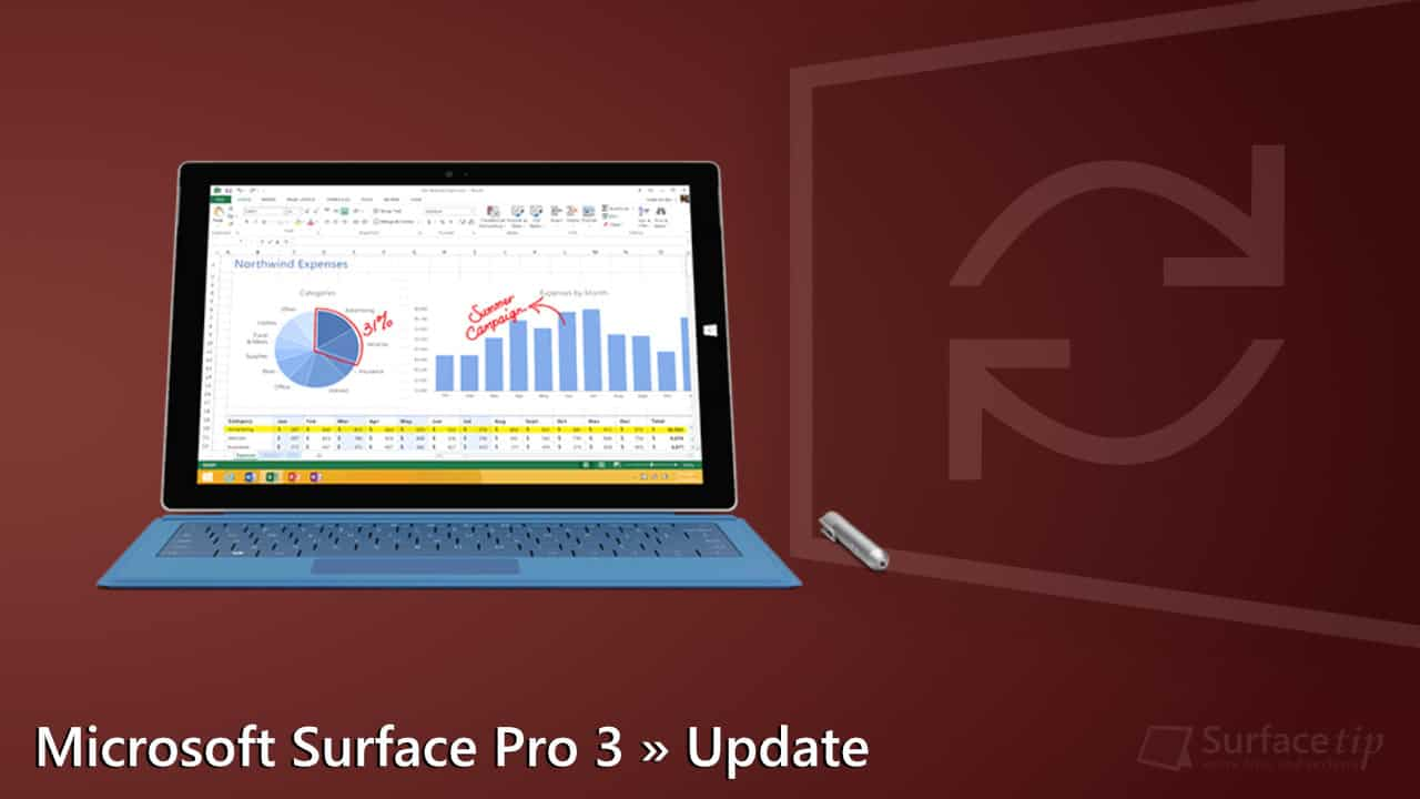 Microsoft Surface Pro 3 Update