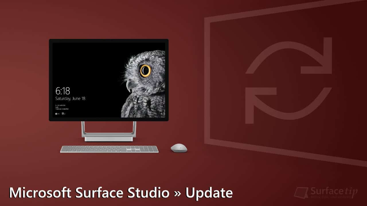 Microsoft Surface Studio Update