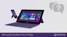 Microsoft Surface Pro 2 FAQs