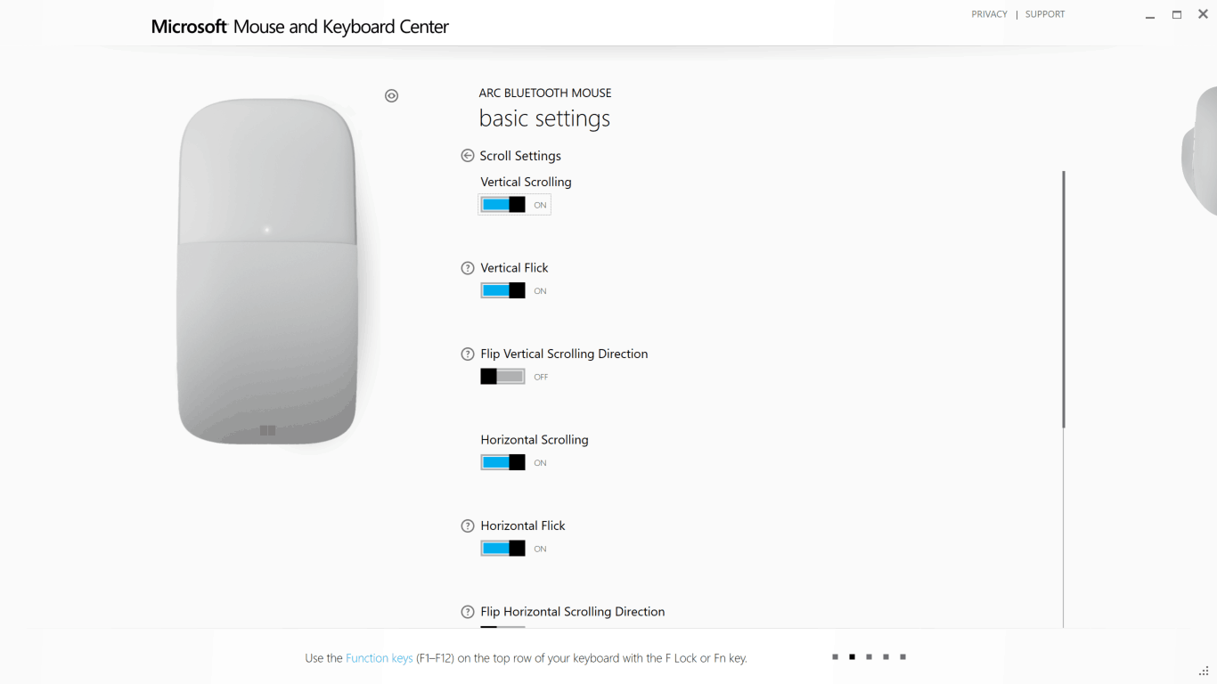 Configuring Surface Arc Mouse Step 09