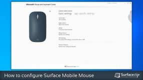 How to configure Surface Mobile Mouse