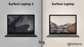 Surface Laptop 2 vs. Original Surface Laptop detailed specs comparison