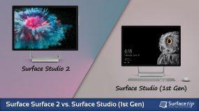 Surface Studio 2 vs. Surface Studio (1st Gen) – Detailed Specs Comparison